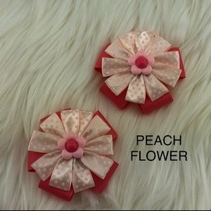 Other - NWOT pair of Girl's hair bow ribbon clip